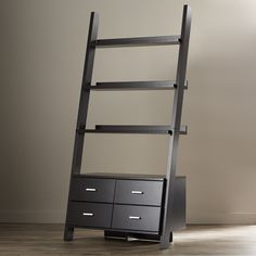 "Zipcode™ Design 69"" Leaning Bookcase & Reviews 