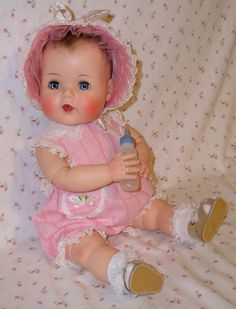 "20"" American Character 1950s Jointed Toodles the Action Baby -- MINT Beauty!"