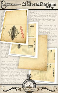 Private Investigator Detective Case File printable paper