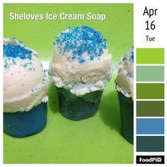 Ice cream soap Muffins, Ice Cream, Soap, Cupcakes, Breakfast, Desserts, Ice Candy, Tailgate Desserts, Muffin