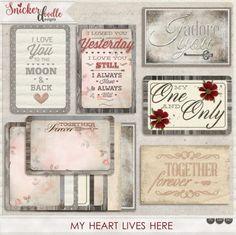 A set of 6 embellish