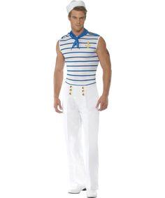 Matrozenpak voor mannen : Vegaoo Volwassenen Kostuums