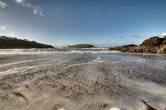 Challaborough Beach and Burgh Island