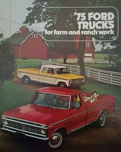 1975 Ford Farm and Ranch Trucks
