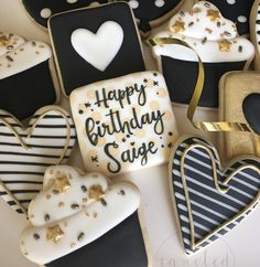 """186 Likes, 7 Comments - Emily Bell (@tangledwithtinkering) on Instagram: """"These #birthdaycookies were a repeat of a popular favorite from a long time ago (way back in my…"""""""