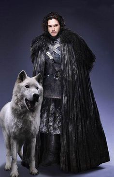 Jon Snow - Game of Thrones- Can't wait for Season 4!!!!!!