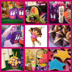 Dora the Explorer Party by Firefly Festivities