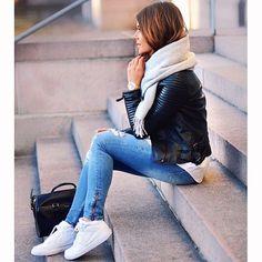 """Zara jacket @mariannnan"" Photo taken by @zara__europe on Instagram, pinned via the InstaPin iOS App! http://www.instapinapp.com (04/25/2015)"