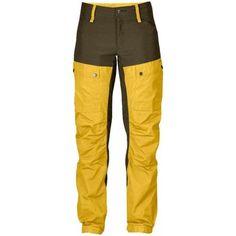Deportes Fjallraven Pantalones montaña  Keb Trousers Regular Ochre Woman  350x350