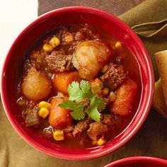 #crockpot Ancho-Beef Stew From Better Homes and Gardens, ideas and improvement projects for your home and garden plus recipes and entertaining ideas.