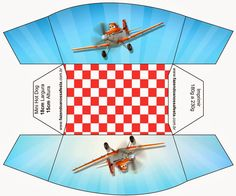 Planes (Disney): Free Printable Boxes.   Oh My Fiesta! in english