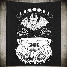 Witch Moon Tapestry