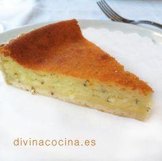 Flaó de Ibiza (pastel de queso y hierbabuena) » Divina CocinaRecetas fáciles, cocina andaluza y del mundo. » Divina Cocina