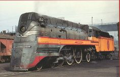 """In my opinion the prettiest of the streamliners. The """"Hiawatha"""" was one of the fastest and there are none of them left. All were scrapped."""