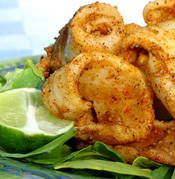 Grilled Salt and Pepper Calamari