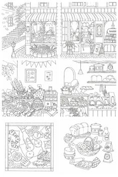 Detailed Coloring Pages, Colouring Pages, Coloring Books, Printable Coloring Sheets, Electronic Books, Cute Doodles, Printable Planner, Adult Coloring, Sketches