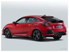 2017 Honda Civic EU Version : La première chose qui frappe en découvrant cette nouvelle Honda Civic sont les dimensions. Par rapport à l'ancienne génération, elle a grandi de 13 cm pour atteindre une longueur de 4,50 m. C'est beaucoup pour une berline dite « compacte ». En outre, Honda a fait de sérieux efforts sur la qualité des matériaux.