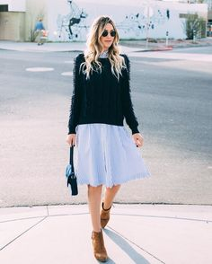 811c69baa1770 Who knew our Scalloped Shirt Dress was so versatile  Okay.. we did.