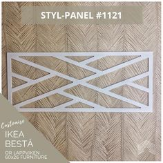 Stylkea is here to help Besta live up to its superlative name. Transform your IKEA Besta unit into a luxurious centrepiece. IKEA hackers live here! Ikea Furniture, Furniture Design, White Furniture, Furniture Ideas, Classic Furniture, Furniture Outlet, Upcycled Furniture, Furniture Stores, Discount Furniture