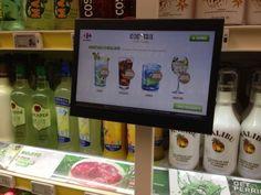 #carrefour #qwartz Honest Tea, Points, Digital Marketing, Walmart, Bottle, Point Of Sale, Flask, At Walmart