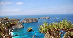 Atuh Beach The Most Beautifull-Cliff-reef-Nusa Penida