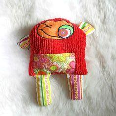 Cute Creature Toy, Whimsical Plush, Friendly Plushie, Weird Stuffed Animal, Cute Art Doll, Original Alien Art