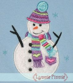 Lynnie Pinnie - Snowman