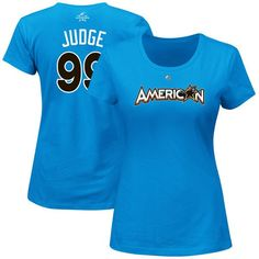 Aaron Judge American League Majestic Women s 2017 MLB All-Star Game Name    Number T-Shirt - Blue -  29.99 6714b12917f