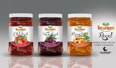 Buram Jam Jar Label Design