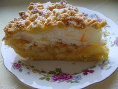 Kruche ciasto z gruszkami i skórką pomarańczową