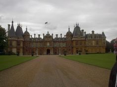 The Traveling Grandma: Adventures with Isabelle: A fall visit to Waddesdon Manor