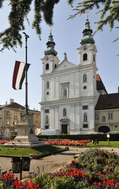 Church of Sopron, Hungary My Travel Map, Architecture Baroque, Hunky Dory, Heart Of Europe, Cathedral Church, Place Of Worship, Budapest Hungary, Homeland, Explore