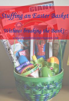 Stuffing an Easter Basket without Breaking the Bank