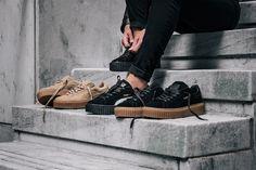 Rihanna x Puma Creeper. An essential to your collection. Coming soon. #DenimLounge where #UrbanSlackers meet footwear. Zigomalli 1, 45332, Ioannina, Greece.