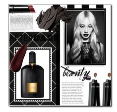 After Dark by pstm on Polyvore featuring polyvore, beauty, Bobbi Brown Cosmetics, Surratt, Witchery, Tom Ford, Safavieh, Bomedo and Whiteley