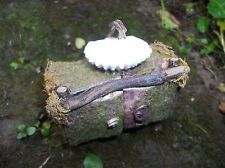ooak Fairy sink, house  Furniture Dollhouse Hobbit Fairies Gnome elf Elves