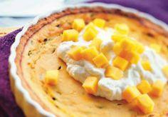 Tarta z marakują i mango