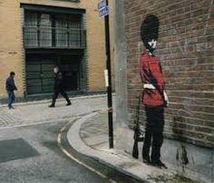 banksy graffiti londen