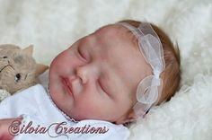 Reborn baby of Princess Charlotte♡ reborned by Silvia Ezquerra ♥