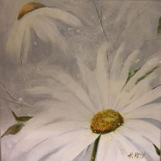 I'm loving the peaceful, calm vibe if this acrylic. With the temperature outside it has me dreaming of spring and daisies and… Daisies, My Dream, Keys, The Outsiders, Original Art, Calm, Peace, Watercolor, Margaritas