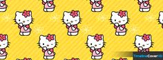 Cute Hello Kitty Timeline Cover 850x315 Facebook Covers - Timeline Cover HD