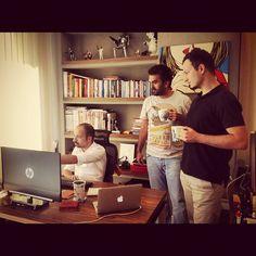 Fatih bize sükse yaratacak projelerini anlatırken :)
