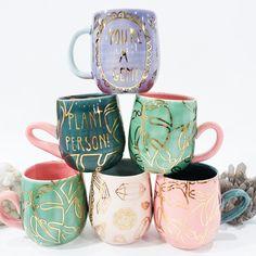 Visit the post for more. Ceramic Mugs, Ceramic Pottery, Ceramic Art, Slab Pottery, Thrown Pottery, Ceramic Bowls, Cool Mugs, Unique Coffee Mugs, Diy Sharpie