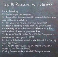 Now is the time to join. Canadian expansion in August and a new product in September.. Business is going to BLOW Up!!