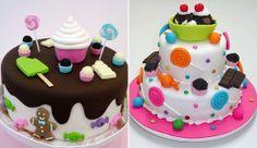 Bolos decorados: modelos lindos para a sua festa de 15 anos! - Blog 15 anos Página comidas-e-bebidas - CAPRICHO
