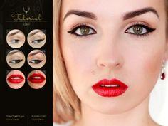 Black & Red #tutorial #makeup