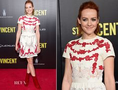 Jena Malone In Valentino - 'St. Vincent' New York Premiere - Red Carpet Fashion Awards