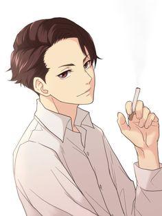 Pretty Drawings, Cool Drawings, Hot Anime Boy, Anime Guys, Manga Boy, Manga Anime, Character Concept, Character Design, Joker Game