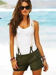 overall shorts....love