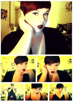 fat girls + short hair = YES!: Photo